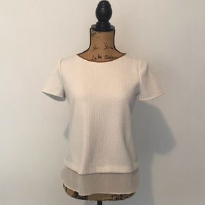 WHBM blouse size XS with sheer detail